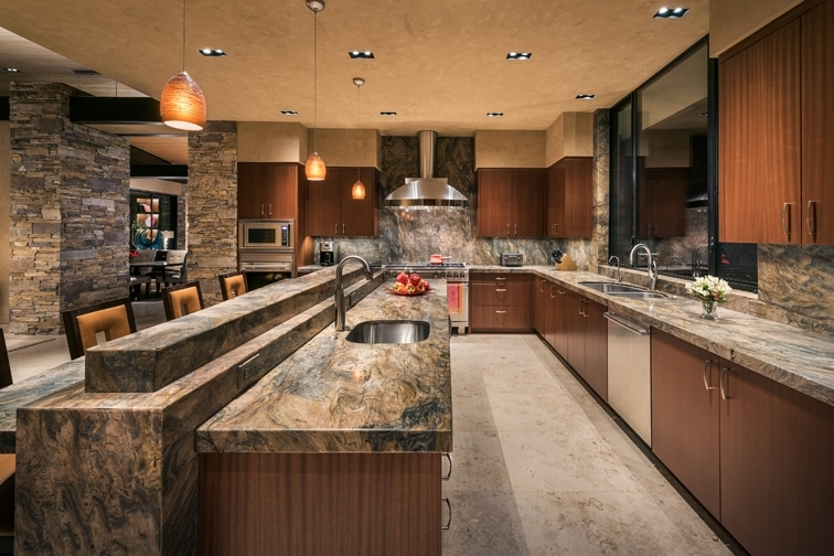 Granite Kitchen Counter Top Design