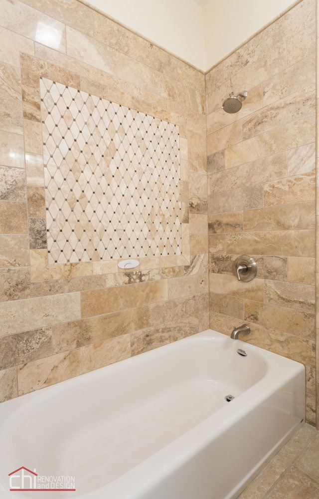 Lincoln Square Basement Bathroom Remodel