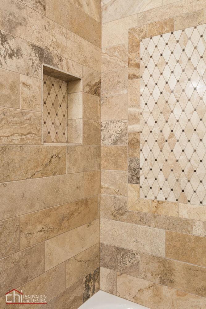 Lincoln Square Basement Bathroom Tiles Remodel
