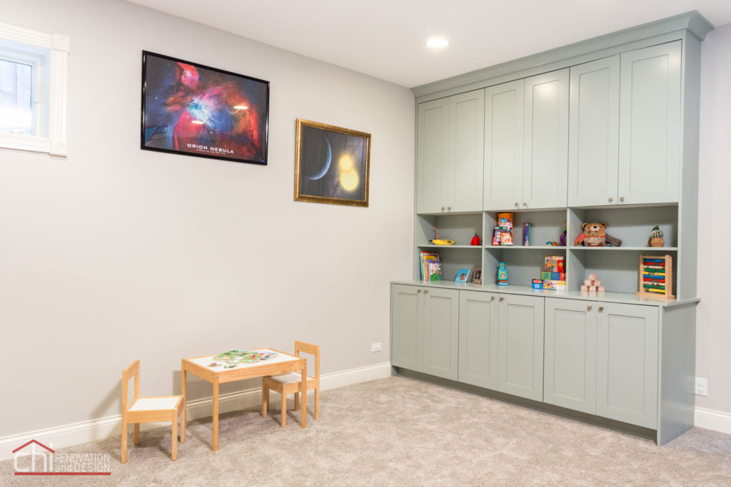 Lincoln Square Basement Kids Room Remodel