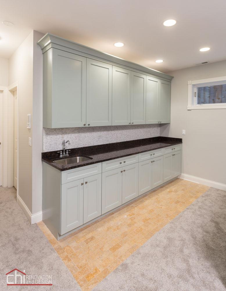 Lincoln Square Basement Kitchen Remodel