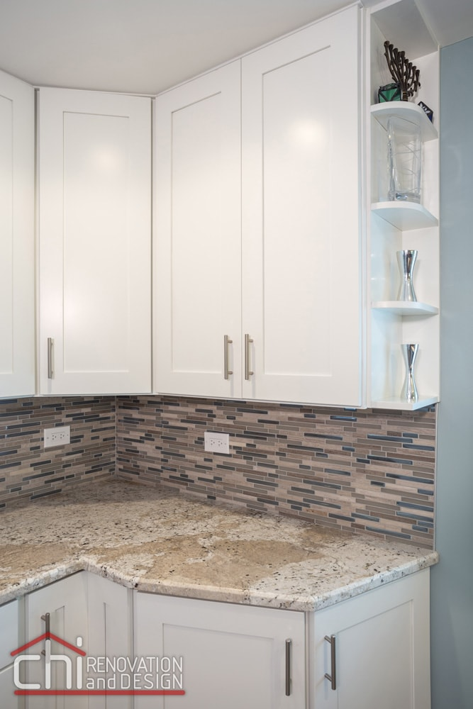 Morton Grove Kitchen Backsplash Remodel