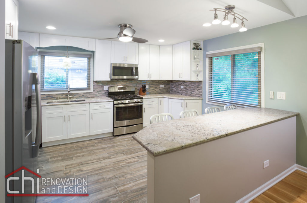 Morton Grove Kitchen Interior Renovation