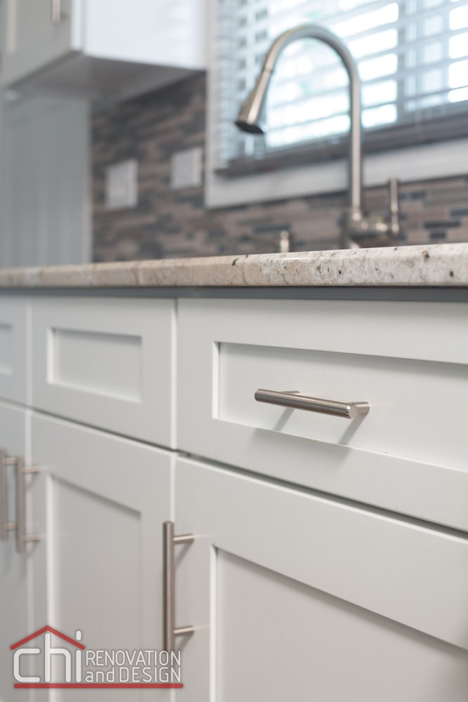 Morton Grove Kitchen Sink Cabinet Remodel