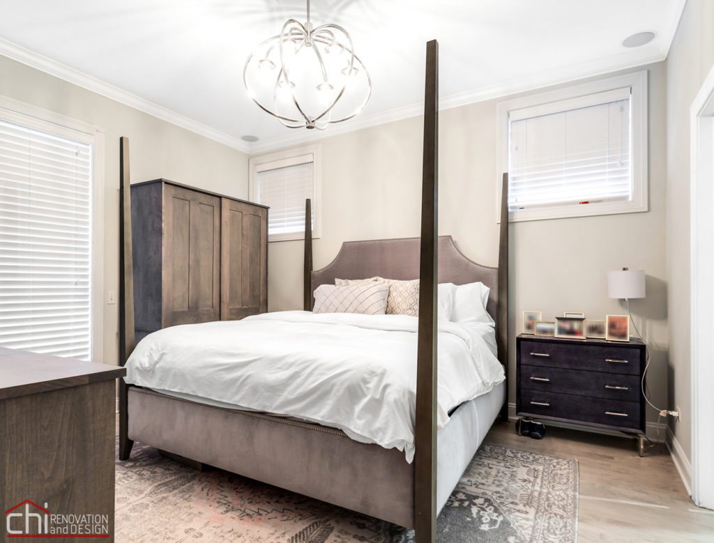 Ranch Triangle Chicago Bedroom Renovation