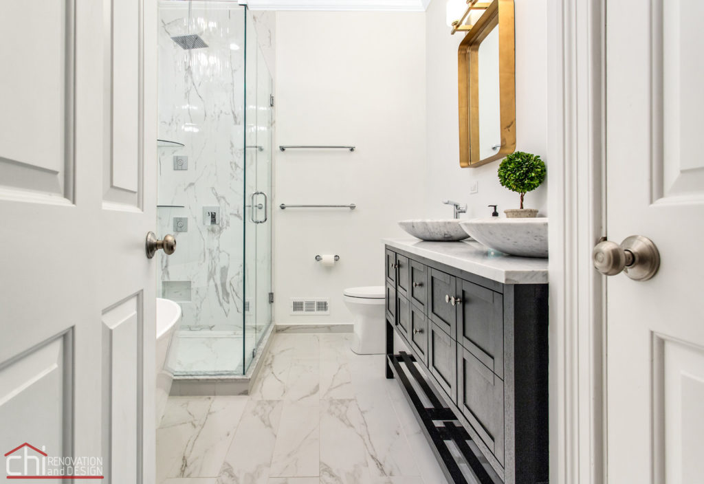 Ranch Triangle Chicago Master Bath Renovation