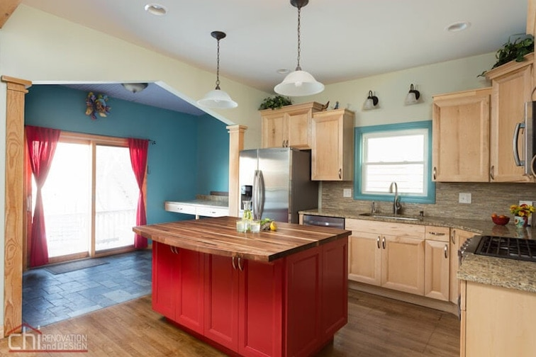 Roscoe Village Kitchen Renovation