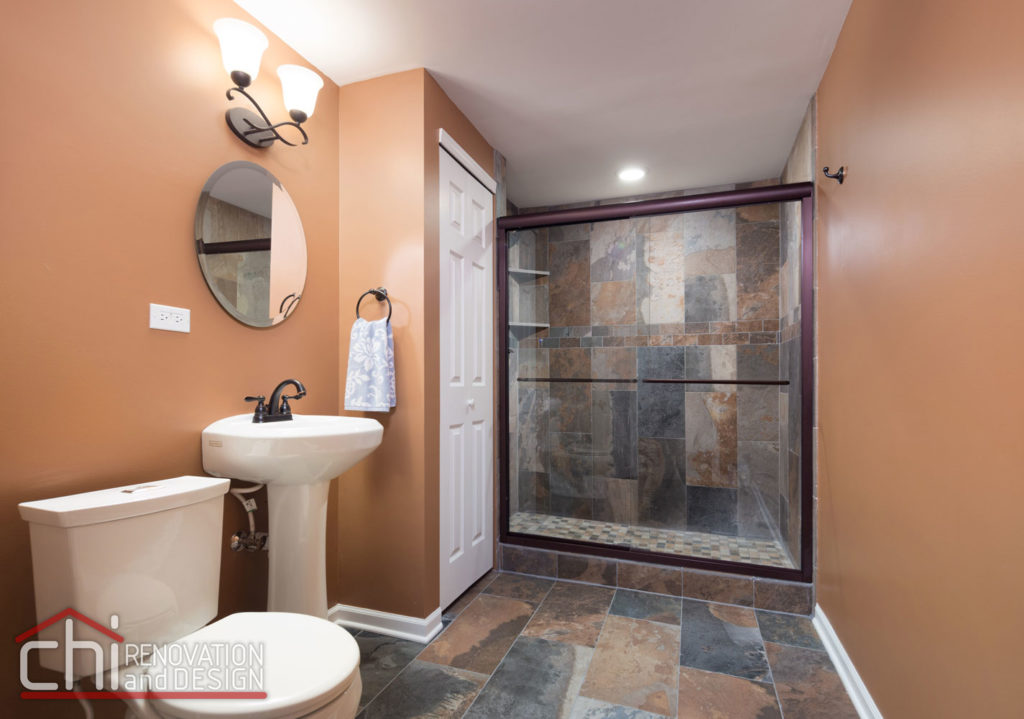 Round Lake Basement Bathroom Renovation