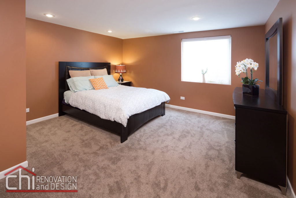 Round Lake Basement Bedroom Renovation