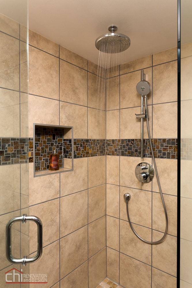 Skokie Bathroom Shower Faucet Remodel