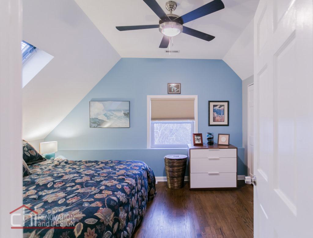 Tastefully Urban Bedroom Remodel