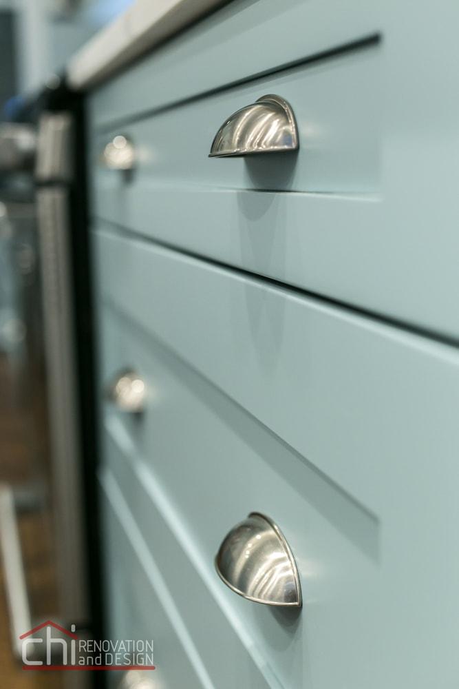 Tastefully Urban Kitchen Cabinet Remodel