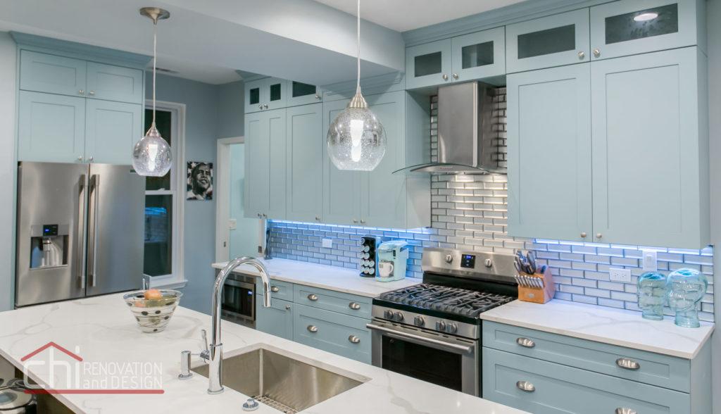 Tastefully Urban Kitchen Interiors Remodel