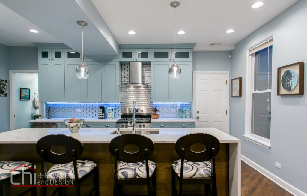Tastefully Urban Kitchen Remodeling