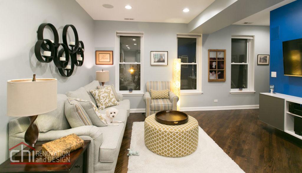 Tastefully Urban Living Room Renovation