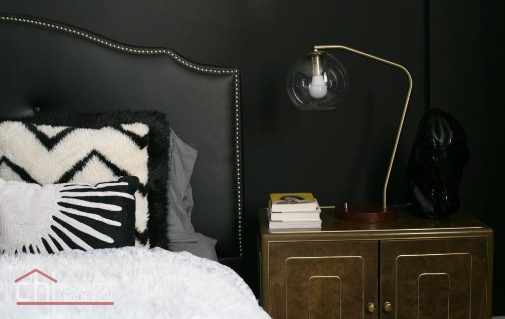 Artistic Urban Chicago Master Bedroom Remodeling