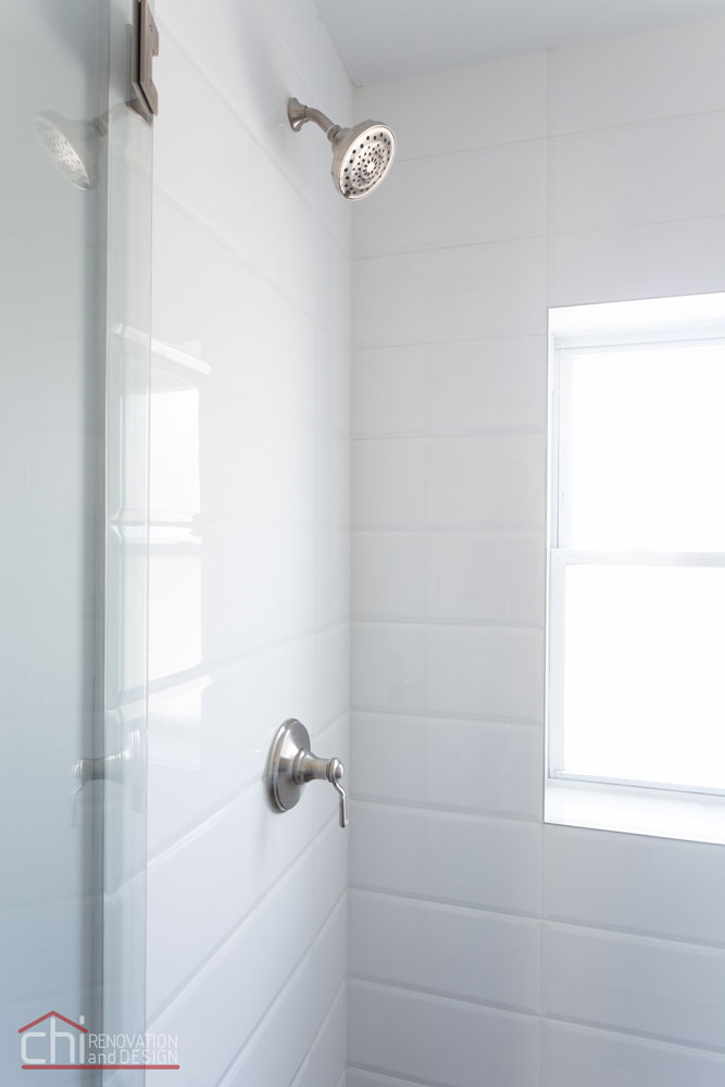 Avondale Airbnb Rental Chicago Bathroom Remodel