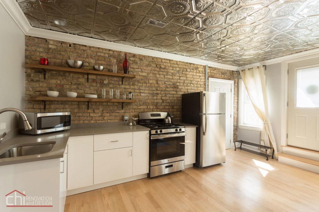 Avondale Airbnb Rental Chicago Kitchen Remodelers