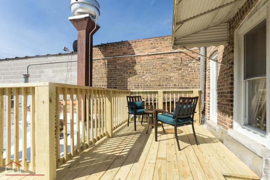 Avondale Airbnb Rental Chicago Patio Remodelers
