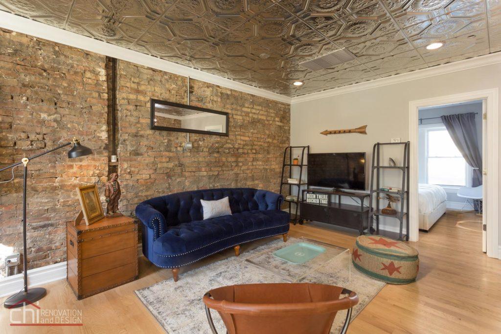 Avondale Airbnb Rental Living Area Remodel