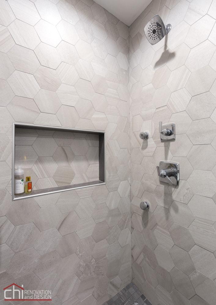 Bathroom Shower Renovation Wicker Park
