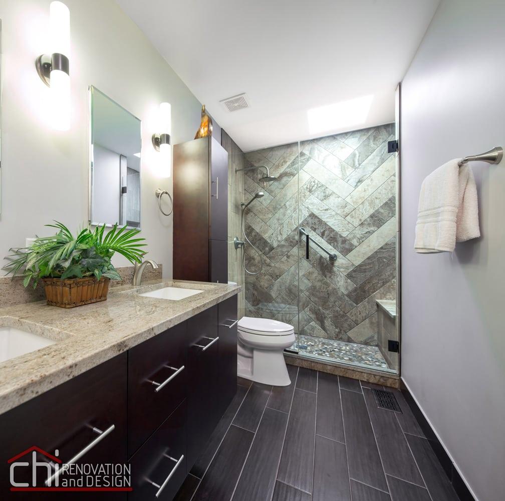 Bridgeport Ensuite Bathroom Interior Renovation