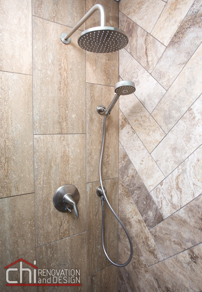 Bridgeport Ensuite Bathroom Shower Faucet Remodel