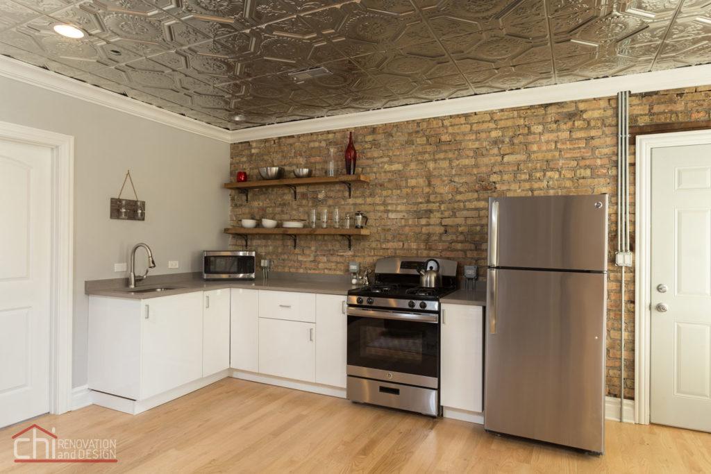 Chicago Avondale Airbnb Rental Kitchen Remodelers