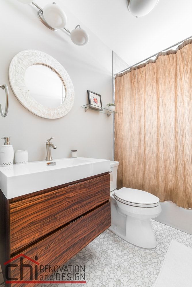 Chicago Basement Bathroom Design Renovation