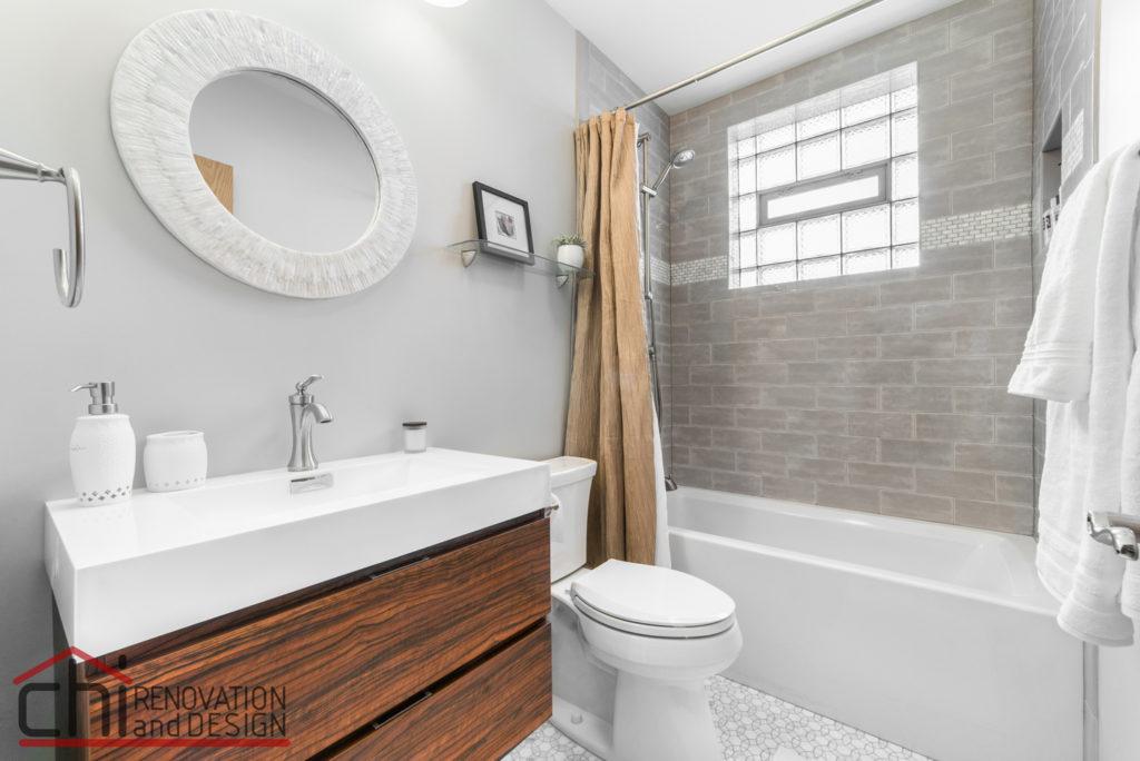Chicago Basement Bathroom Remodeling Design