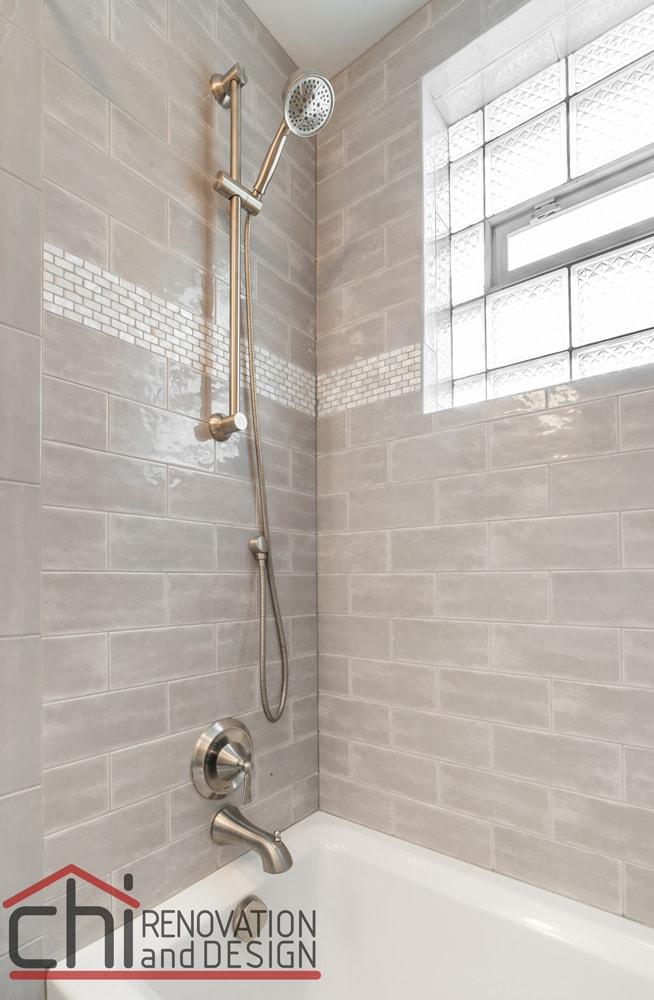 Chicago Basement Bathroom Shower Remodeling