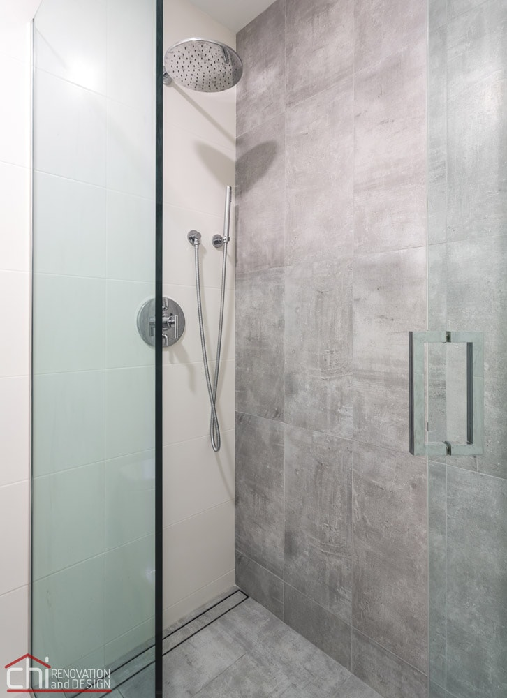 Chicago Bathroom Shower Remodel