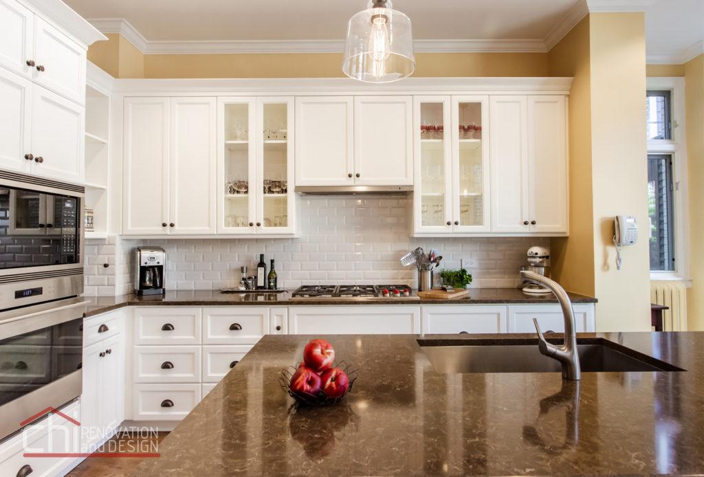 Chicago Burling St Kitchen Countertop Remodel