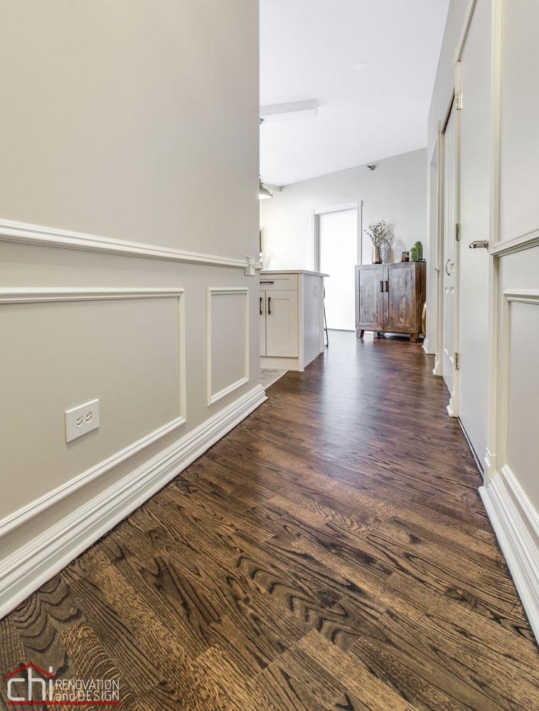 CHI | Chicago Condo Kingsbury Flooring Renovation