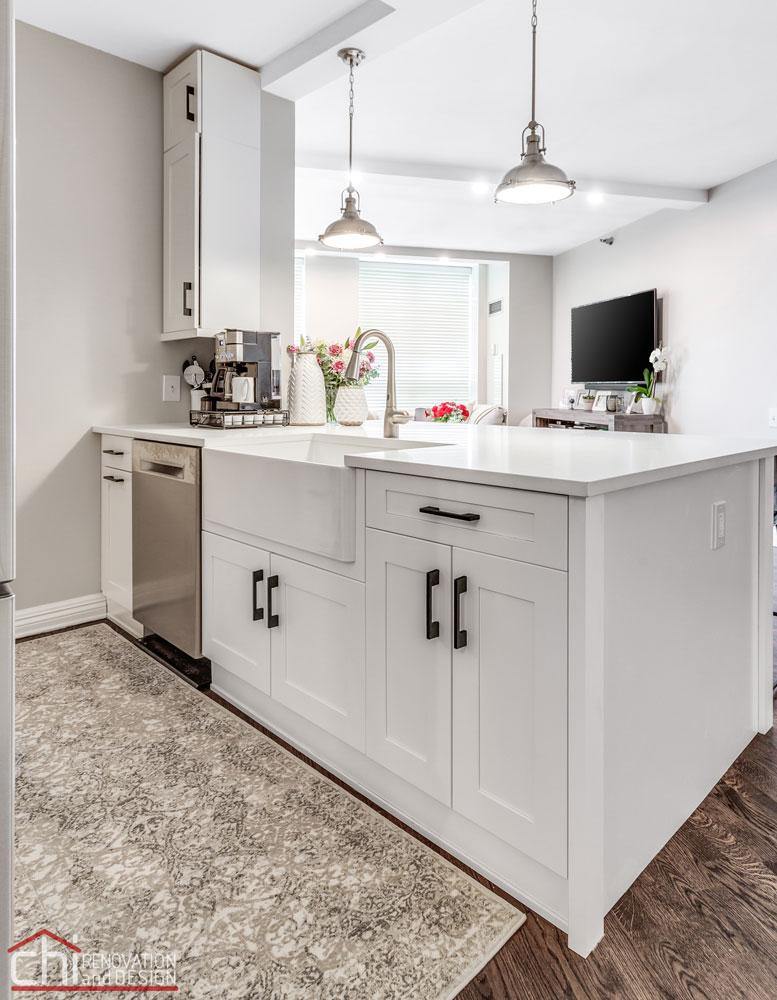 CHI | Chicago Condo Kingsbury Kitchen General Contractors