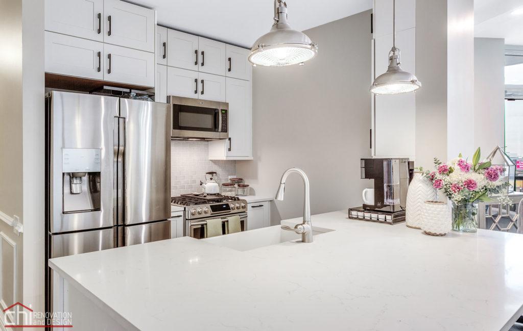 Chicago Condo Kingsbury Kitchen Remodel