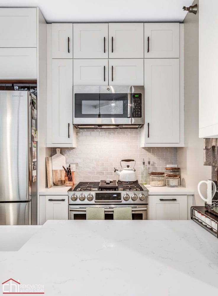 Chicago Condo Kingsbury Kitchen Remodeling