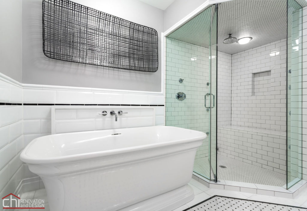 Chicago Loft Shower Remodel
