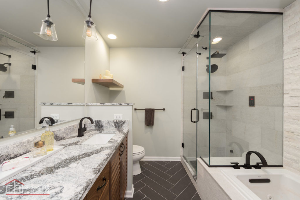 Chicago Loop Condo Bathroom Interior Remodel