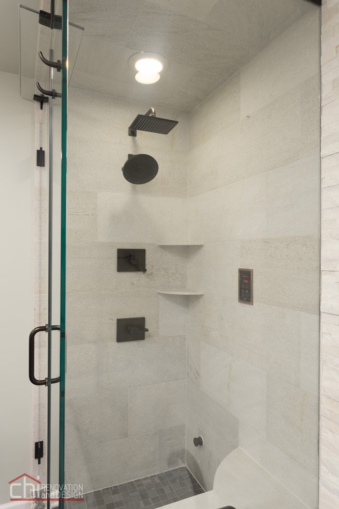 Chicago Loop Condo Shower Remodel