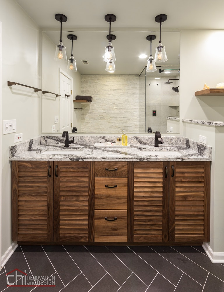 Chicago Loop Condo Twin Sink Remodel