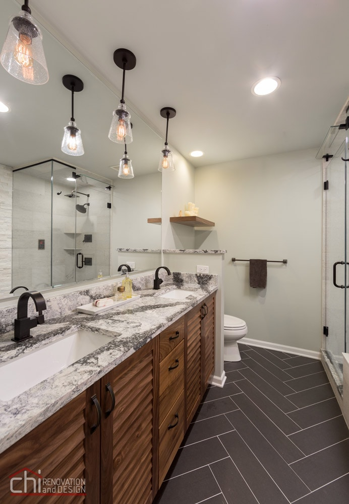 Chicago Loop Condo Twin Sink Renovation