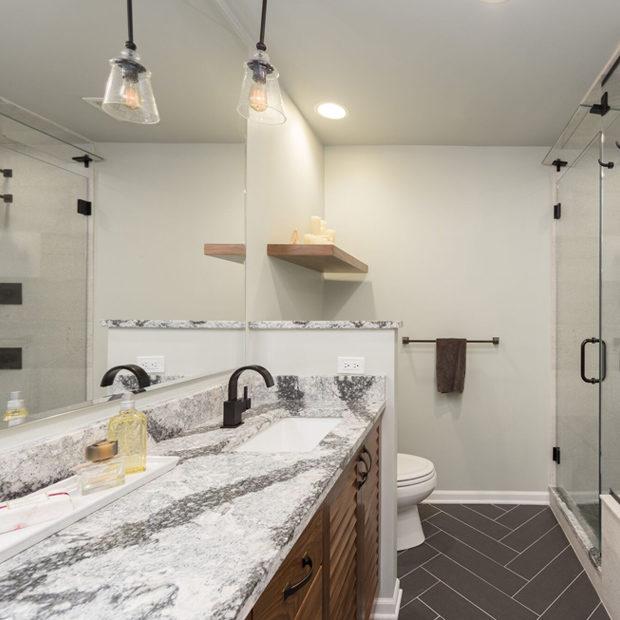 Chicago Loop Master Bathroom Remodel