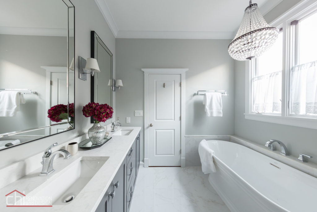 CHI | Chicago Master Bath He She Sink Design