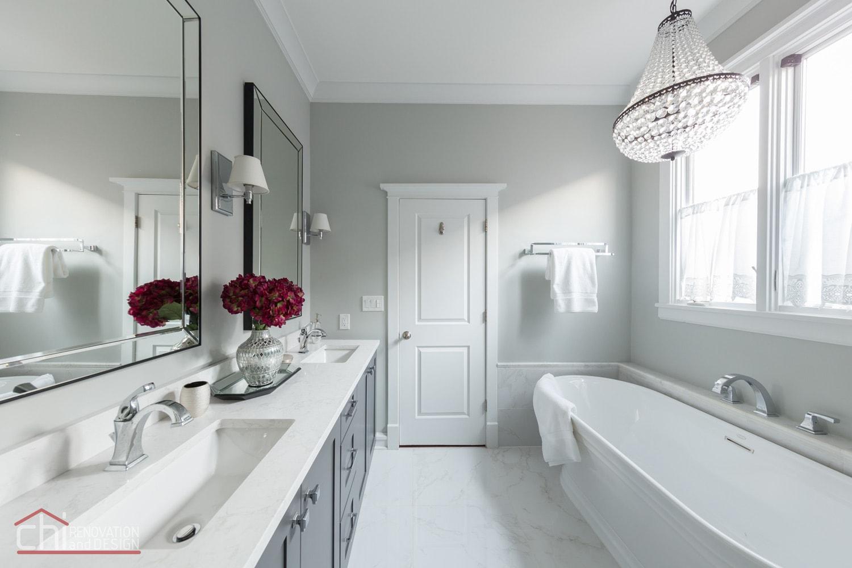 Chicago Master Bath Remodel - Chi Renovation & Design