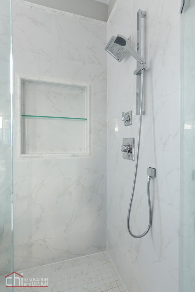 CHI | Chicago Master Bath Shower Remodel