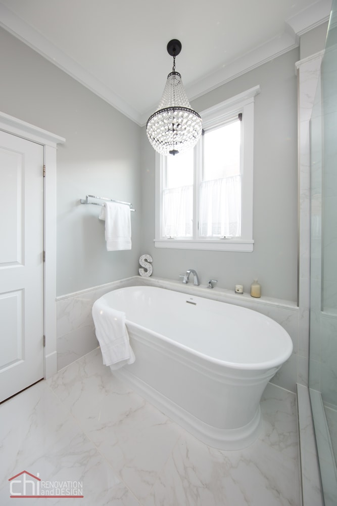 CHI | Chicago Master Bath Tub Remodel