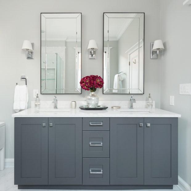 Chicago Master Bathroom Vanity Design