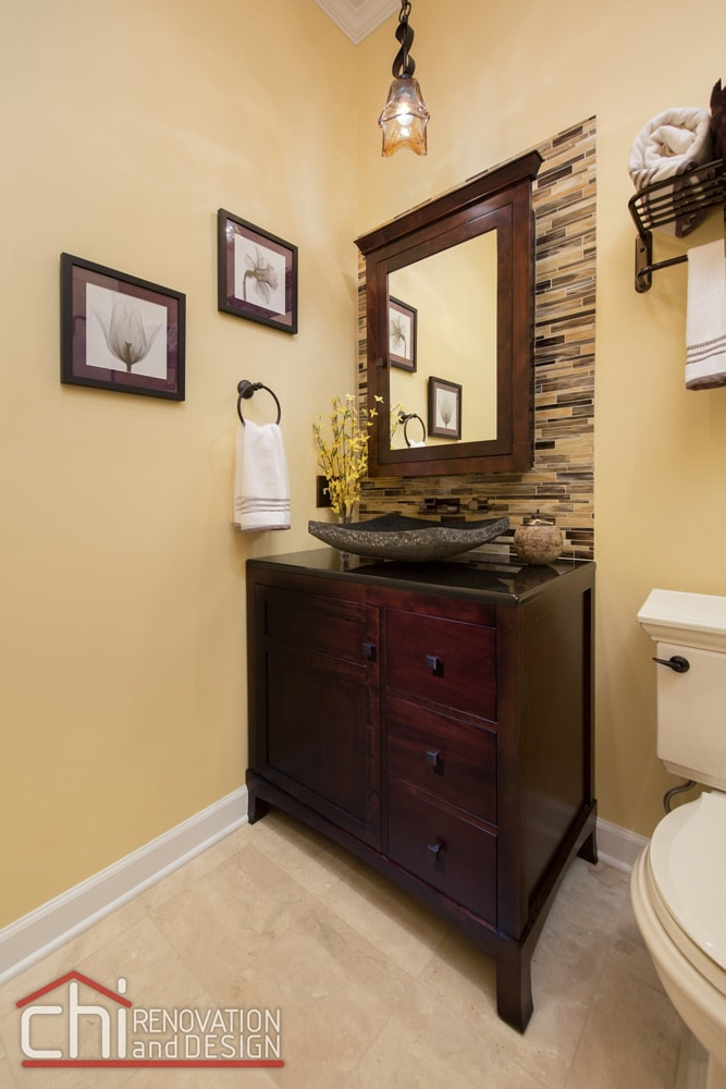 Chicago Old Town Guest Bathroom Remodel
