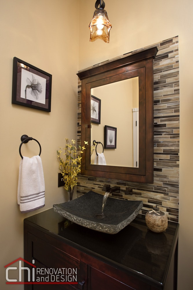 Chicago Old Town Guest Bathroom Sink Renovation